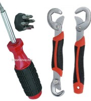 Snap & Grip with 6 in 1 heavy Screwdriver Set-2531